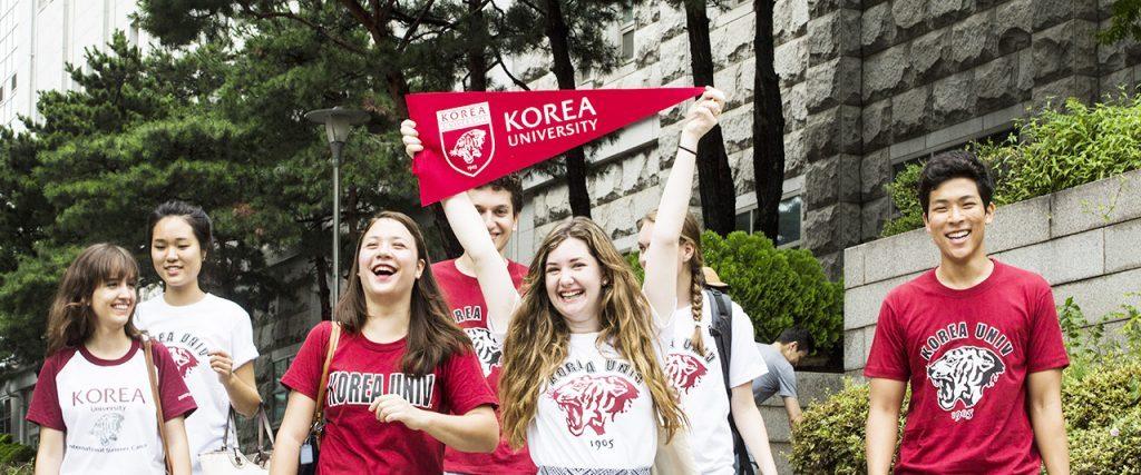 Học sinh đại học Korea