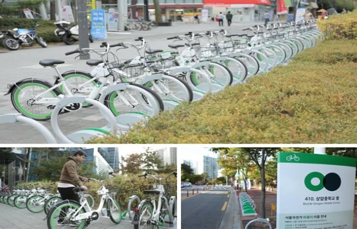 Thuê xe Đạp tại thủ đô Seoul