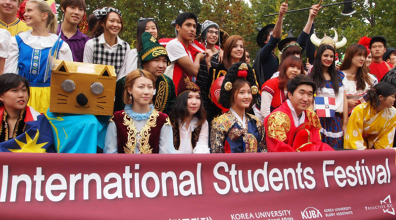 Lễ hội dành cho sinh viên Quốc tế tại Hàn Quốc