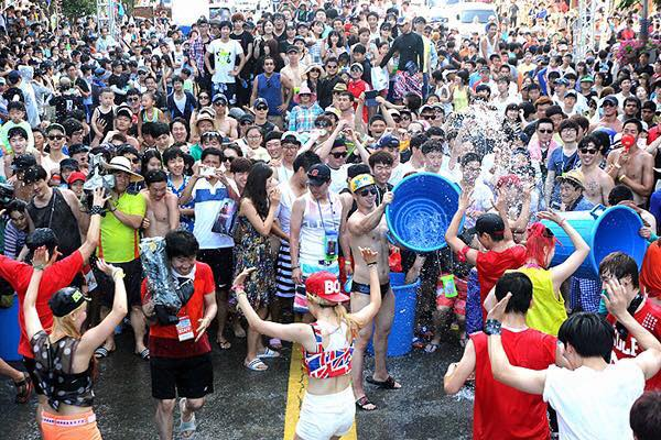 Lễ Hội Tắm Biển 해운대