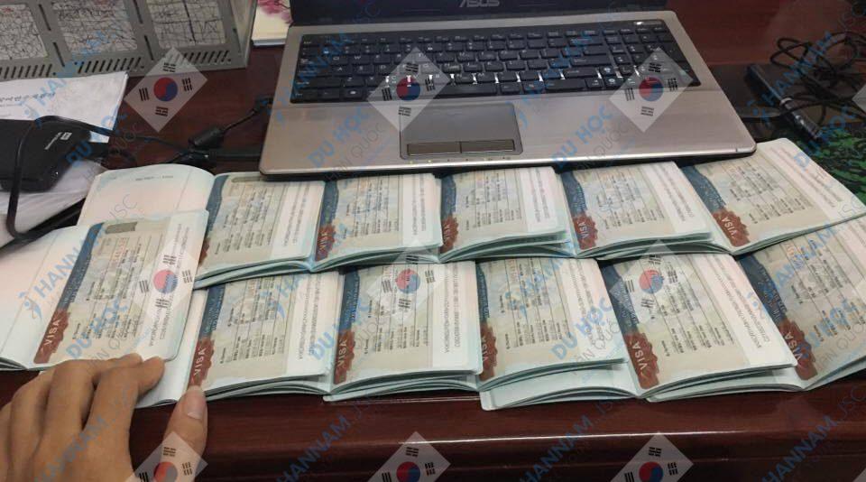 Visa của du học sinh Hanam