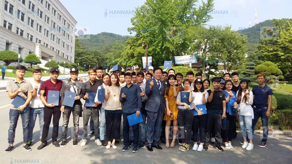 Du học sinh Hanam tại Hàn Quốc