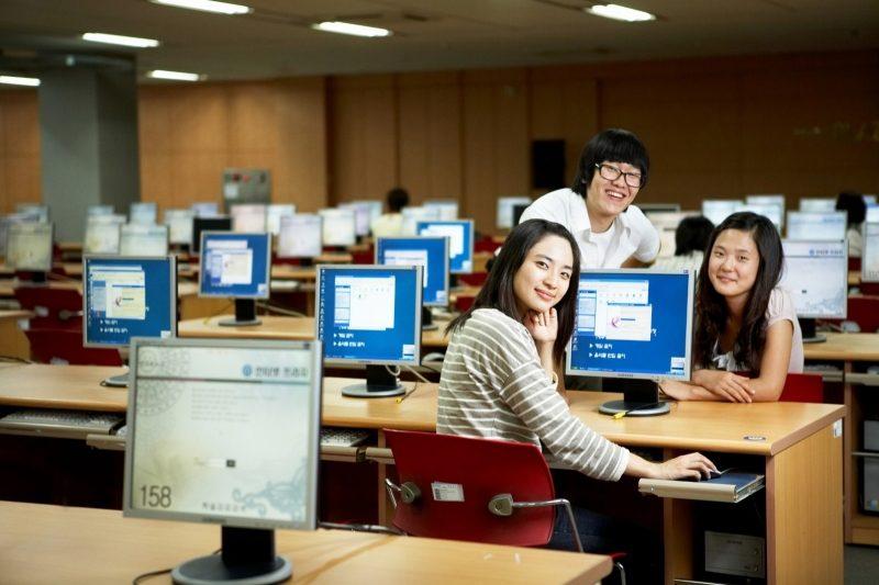 Cheongju Universty -Trang thiết bị dạy học tối tân