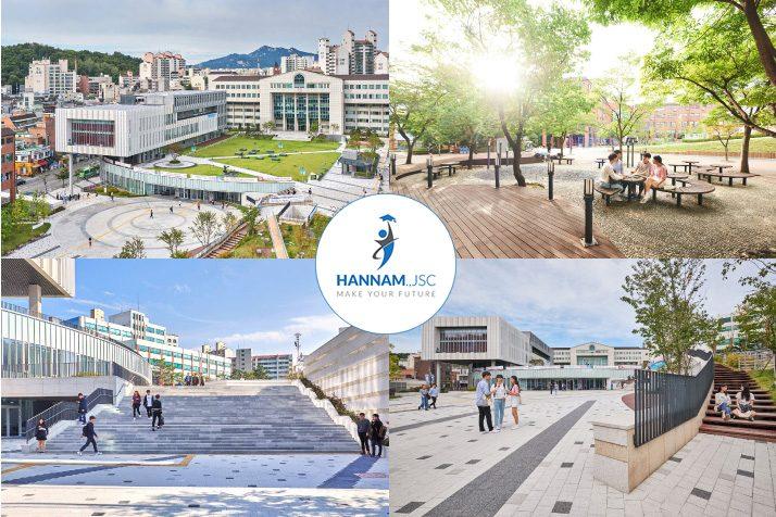 Khuôn viên Đại học Kwangwoon- Kwangwoon University